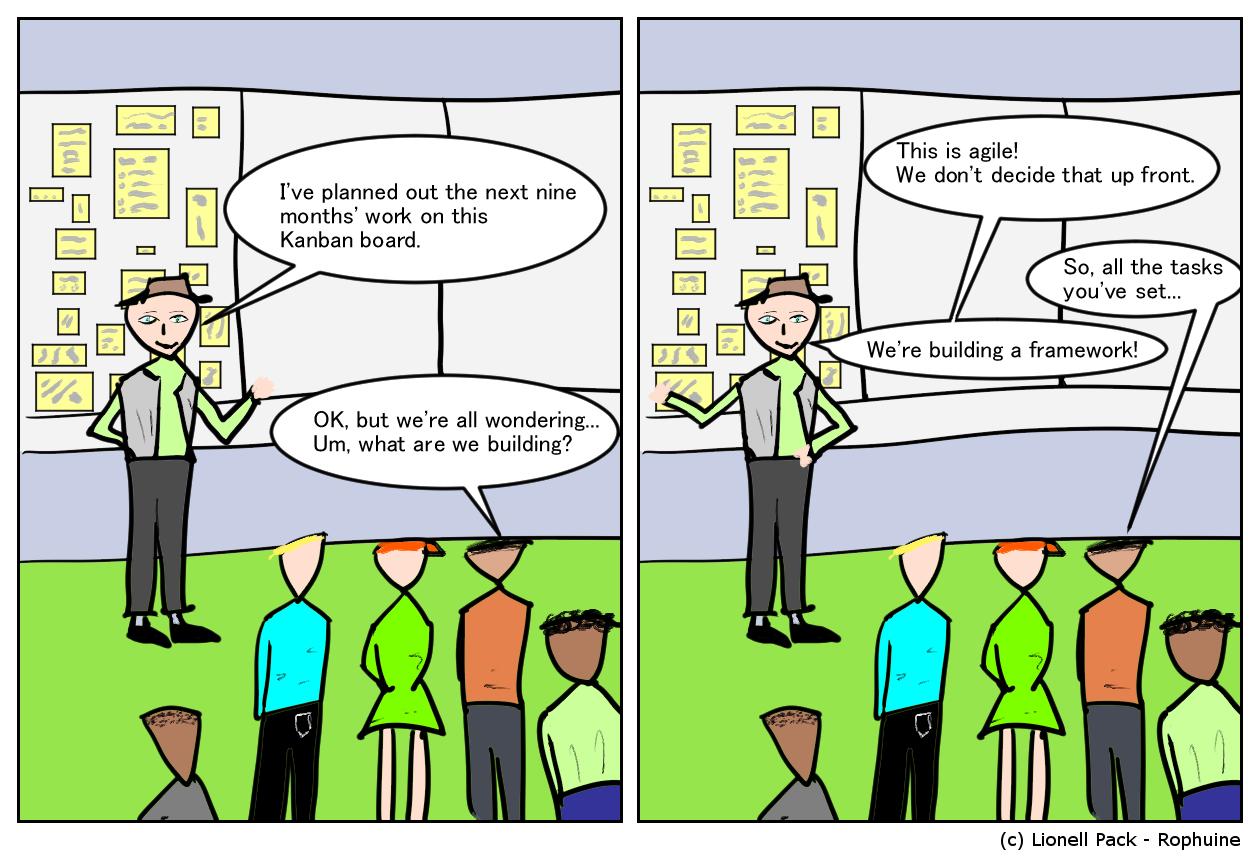 Planning Comic
