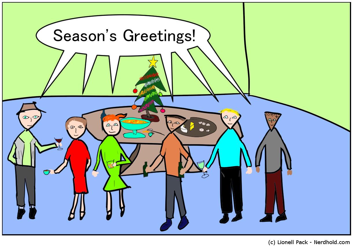 Seasons Greetings Comic