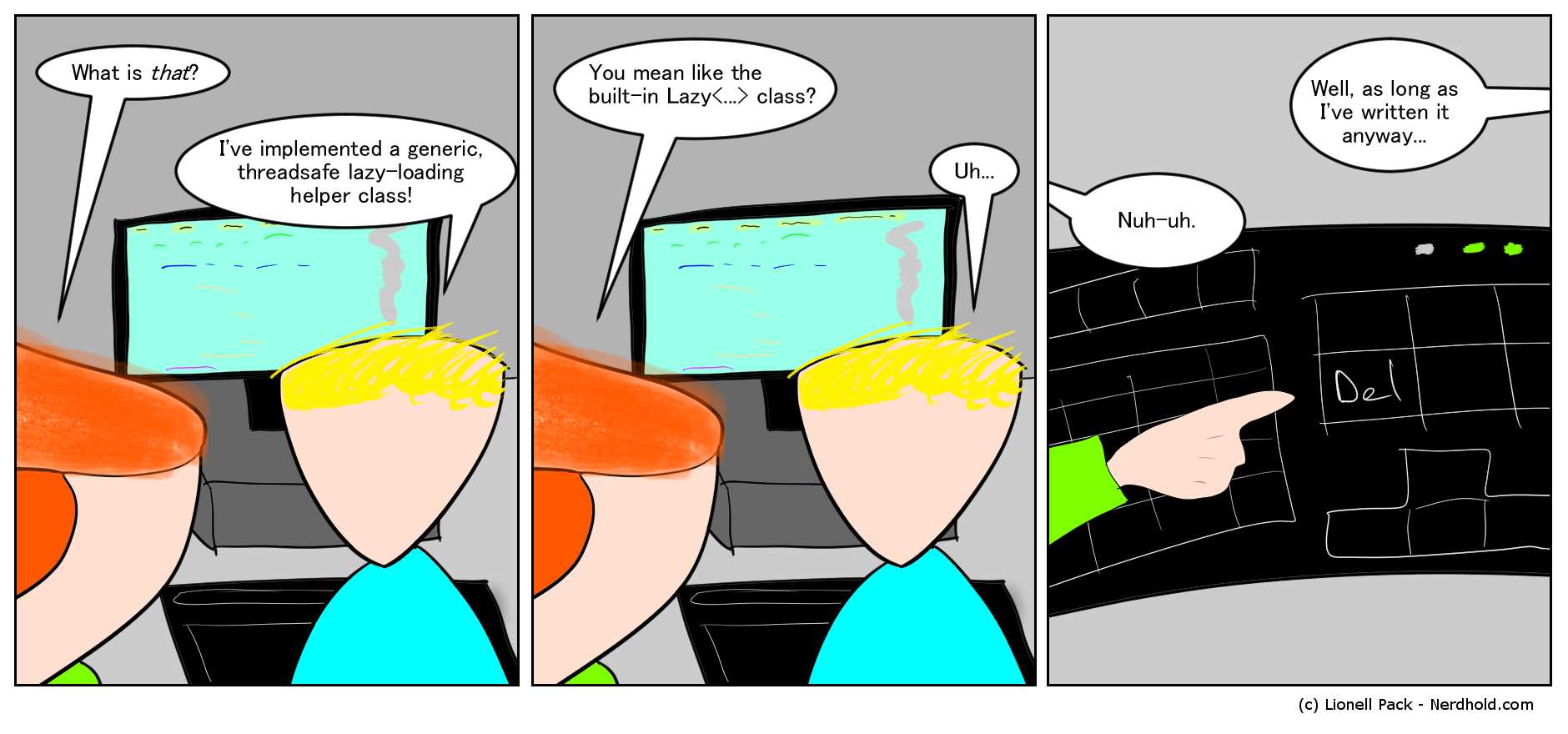Code Review Comic