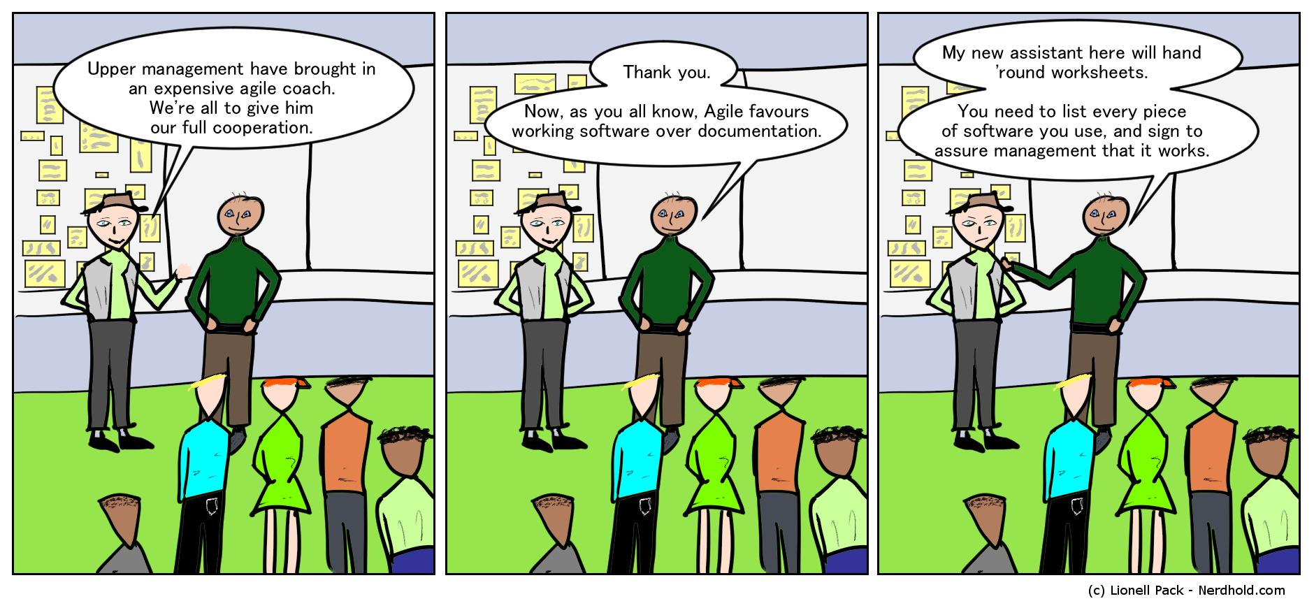 Agile Comic